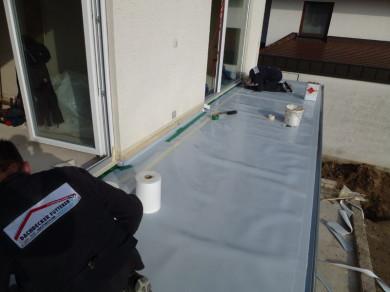 Kastendachrinne balkon  Dachdecker Fütterer, Dach-, Holz-, Wand-, Abdichtungstechnik und ...